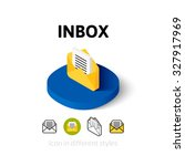 inbox icon  vector symbol in...