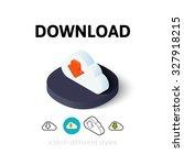 download icon  vector symbol in ...