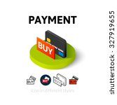 payment icon  vector symbol in...