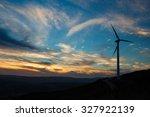 A Solitary Wind Turbine...