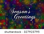 Seasons Greetings Card With A...