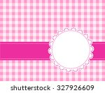 Cute Pink Gingham Pattern With...