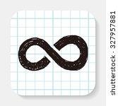 unlimited doodle | Shutterstock . vector #327957881