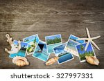 photo of tropical seas and... | Shutterstock . vector #327997331