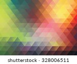 colorful polygonal abstract... | Shutterstock .eps vector #328006511