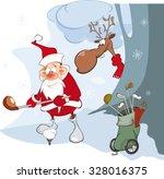 vector illustration of cute... | Shutterstock .eps vector #328016375