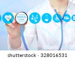 medical doctor working with... | Shutterstock . vector #328016531