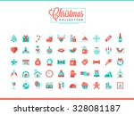 set of 50 beautiful christmas...
