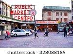 seattle  wa  7 april 2014 ... | Shutterstock . vector #328088189