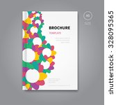colour front page template of... | Shutterstock .eps vector #328095365