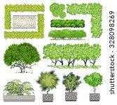 trees and bush item for... | Shutterstock .eps vector #328098269