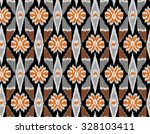 seamless abstract ethnic  ... | Shutterstock . vector #328103411