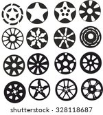 wheels   Shutterstock .eps vector #328118687