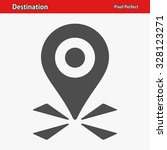 destination icon. professional  ... | Shutterstock .eps vector #328123271