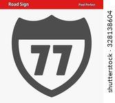 road sign icon. professional ... | Shutterstock .eps vector #328138604