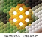 abstract polygon pattern... | Shutterstock .eps vector #328152659