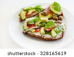 Healthy Sandwich With Whole...