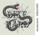snake graphic illustration with ... | Shutterstock .eps vector #328167005