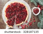 Cranberry Tart. Delicious...