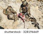 united states army ranger medic ... | Shutterstock . vector #328196669