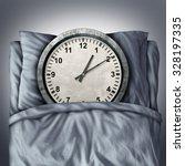 Getting Enough Sleep Concept O...