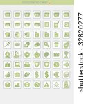 vector icons for web... | Shutterstock .eps vector #32820277