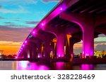 Miami Florida At Sunset ...