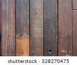 dark wooden fence background  | Shutterstock . vector #328270475