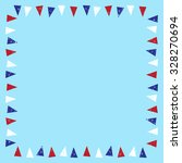 Red White And Blue Bunting...