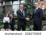 proper business agreement.... | Shutterstock . vector #328275005