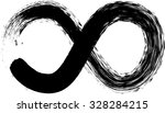 vector looped black painted... | Shutterstock .eps vector #328284215