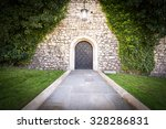 stone road to old beautiful... | Shutterstock . vector #328286831
