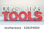 consulting tools text abstract...   Shutterstock . vector #328294004