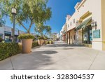 scenery of the mall shopping... | Shutterstock . vector #328304537