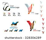 letter business emblems  icon... | Shutterstock .eps vector #328306289