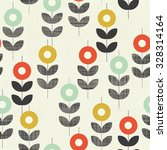 seamless abstract floral... | Shutterstock .eps vector #328314164