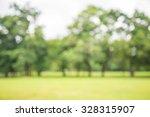 abstract blur city park bokeh... | Shutterstock . vector #328315907