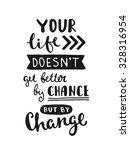 vector calligraphy. hand drawn... | Shutterstock .eps vector #328316954
