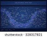 high detailed star map with... | Shutterstock .eps vector #328317821
