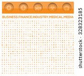 business office money...   Shutterstock .eps vector #328323185