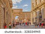 florence  italy   14 september... | Shutterstock . vector #328334945