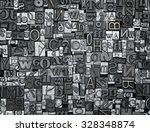 letterpress background  close... | Shutterstock . vector #328348874