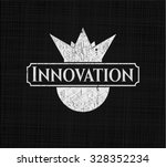 innovation chalkboard emblem   Shutterstock .eps vector #328352234
