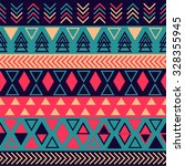 tribal pattern | Shutterstock .eps vector #328355945