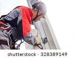 installation of...   Shutterstock . vector #328389149