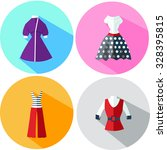 women's clothing in retro style