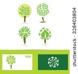 vector company logo icon... | Shutterstock .eps vector #328403804
