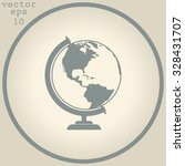 vector globe icons | Shutterstock .eps vector #328431707