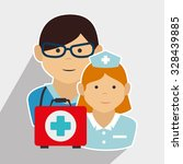 emergency and rescue  icons... | Shutterstock .eps vector #328439885