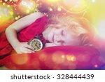 Little Girl  Sleeping Near...
